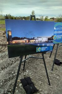 Ground-Breaking for Cascades Casino North Bay