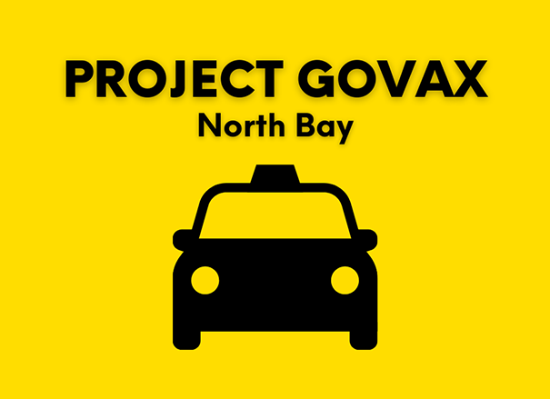 Project GoVax - North Bay and District Chamber of Commerce Initiatives Logo