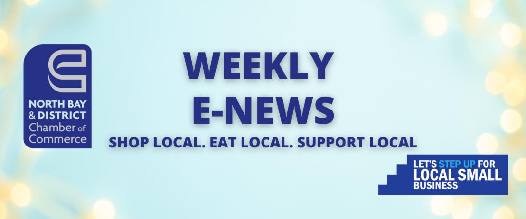 Weekly E-News – July 7, 2021