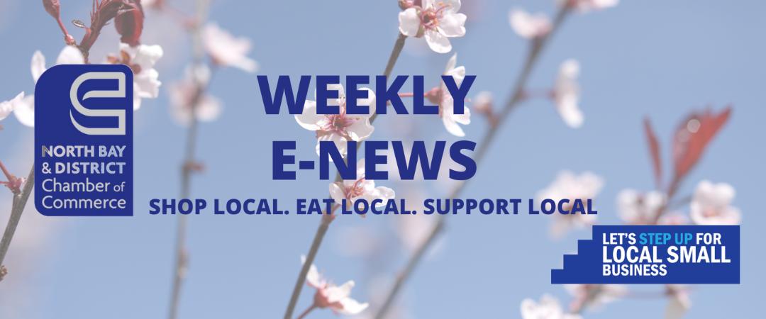 Weekly E-News – May 26, 2021