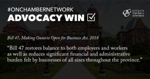 Advocacy Win with Bill 47