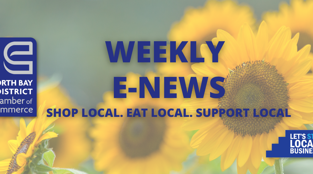 Weekly E-News – August 25, 2021