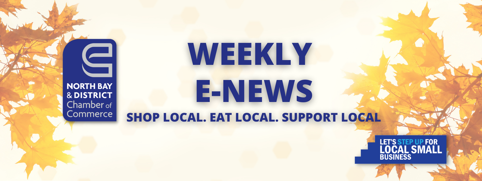 Weekly E-News - North Bay and District Chamber of Commerce Sept Leaves