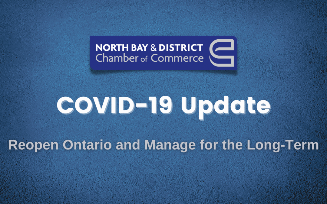 Ontario Government Releases Plan to Reopen Ontario and Manage COVID-19